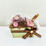生花もプリザーブドフラワーのレッスンも♪9月11日の白鷺教室の生徒様作品のご紹介♪