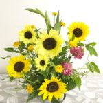 元気の象徴のお花:ひまわりを使ったレッスン♪